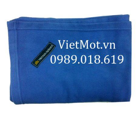 Mền nỉ có logo Vietnam Airlines chính hãng