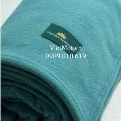 Mền nỉ có logo Vietnam Airlines