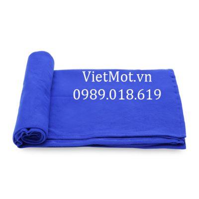 Chăn nỉ màu xanh da trời Việt Mốt